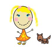 Sunny Sapphire with Howlie