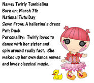 Twirly tumblina