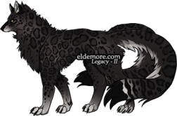 Spotty Forest Dire Wolves1