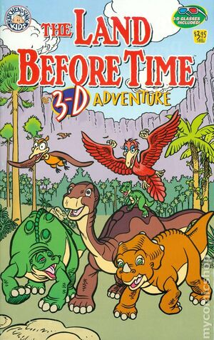 Land Before Time 3-D Adventure Cover
