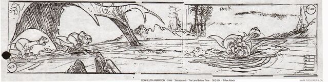 File:Don Bluth Storyboards Land Before Time 007.jpg