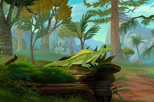 Sailback Lizard