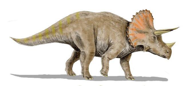 File:Triceratops-life restoration.jpg