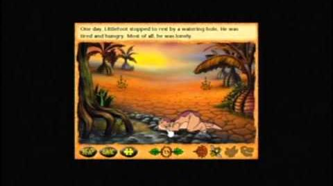 Land Before Time Animated Moviebook