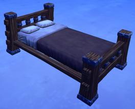 Wooden Bed Model