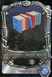 All of them better worlds