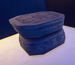 Small Stone Table prop placed