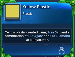 Yellow-plastic