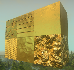 Gold-textures-demo