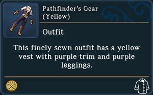 Pathfinders Gear Yellow examine