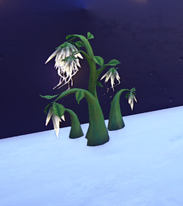 Silkfall Plant prop placed