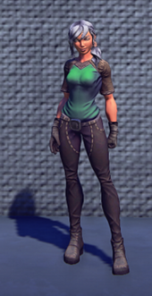 Artisans Outfit Green Equip