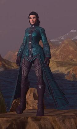 Colonists-elegant-robe-teal