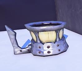 Landmark Iron Trimmed Mug prop placed