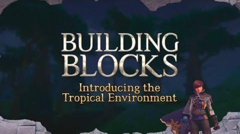 Building Blocks Introducing the Tropical Environment