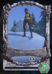 To me gunter