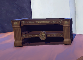 Stackable Bookcase prop placed