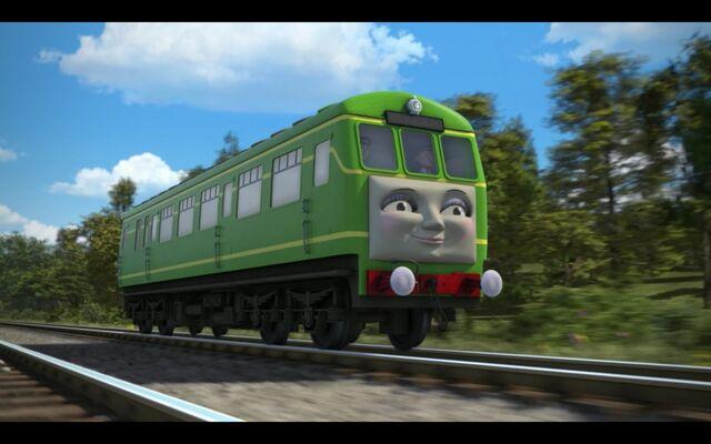 File:Railcar and Coaches 2.jpg