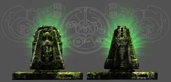Stone Dais Concept