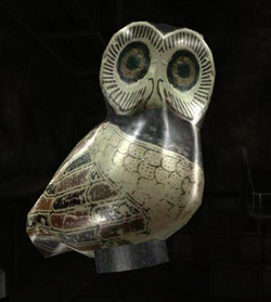 Athenian Owl Figurine