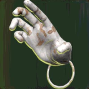 Silver Monkey Paw