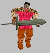 Xian Warrior with Sword