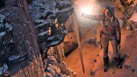 Lara Exploring a Cave