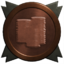 Reward bronze trophy