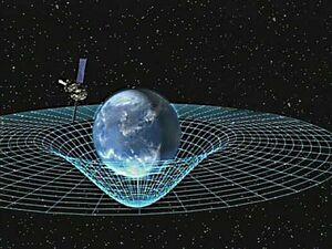 GPB circling earth