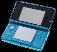 Nintendo 3DS (Aqua Blue)