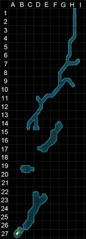 Numor mine undeveloped zone grid