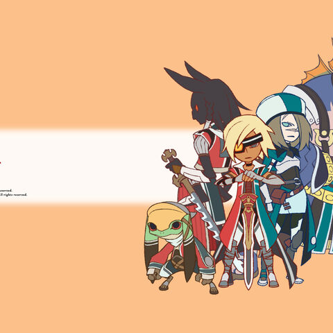 Chibi wall from JP site