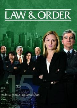 Law and Order S15 (DVD)