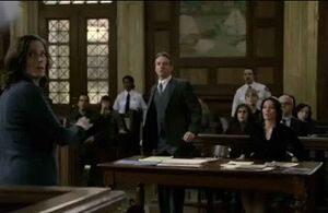 Mike Cutter, Connie Rubirosa, and a Defense Attorney