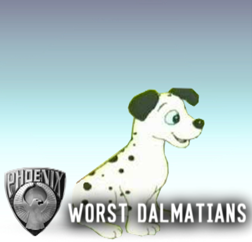 File:Worst Dalmatians SSBLE Logo.png