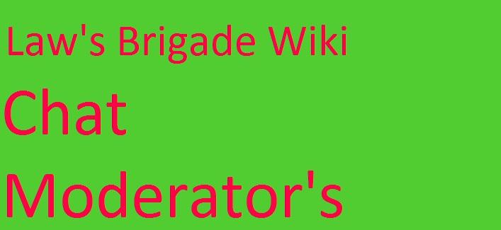 Chat moderators