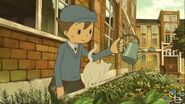 Luke Watering Flowers