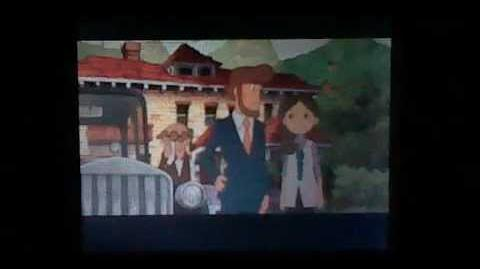 Professor Layton and the Spectre's Call the Last Specter - Cutscene 36 (UK Version)