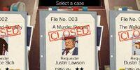 File No. 003: A Murder Staged