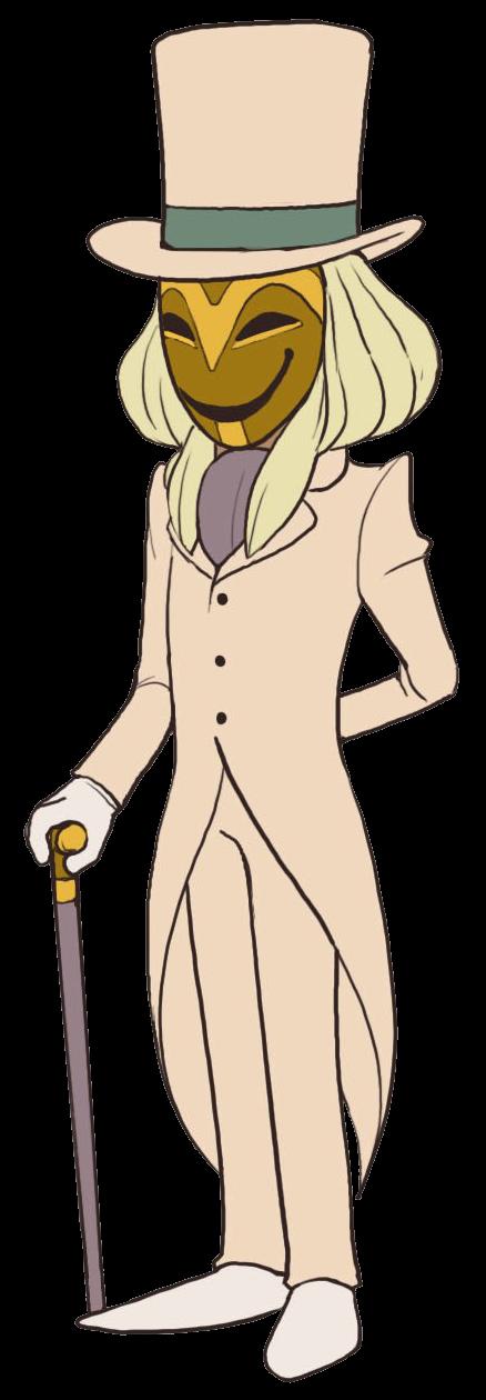 The Masked Gentleman Professor Layton Wiki Fandom