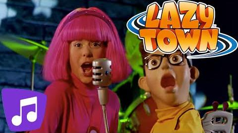 LazyTown The World Goes Round Music Video