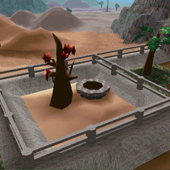 The old entrance of the temple in LBA2