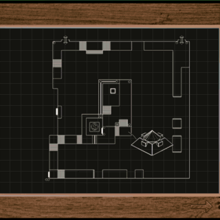 the map of Citadel Island's sewers