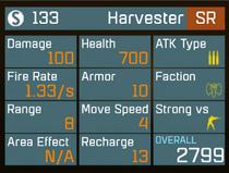 Harvestlvl1stats