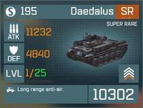 Daedalus SR Lv1 Front