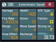 Exterminator Squad R Lv1 Back