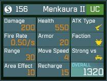 Menkaura II UC Lv1 Back