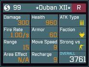 Duban XII R Lv1 Back