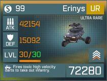 Erinys UR Lv30 Front