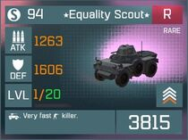 Equality Scout R Lv1 Front